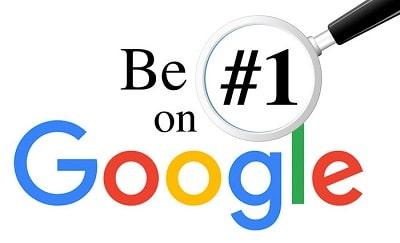 قرار گرفتن در رتبه اول نتایج جستجوی گوگل