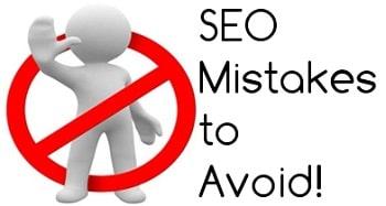 اشتباهات سئو سایت که باید از آنها بپرهیزید