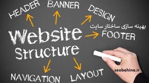 بهینه سازی ساختار وب سایت