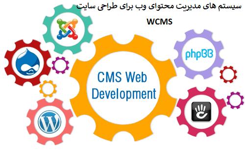 سیستم های مدیرتی محتوای وب wcms