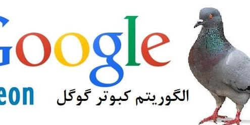 بروزرسانی الگوریتم کبوتر گوگل pigeon