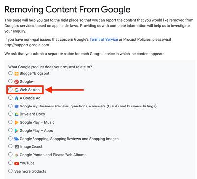 نحوه ثبت گزارش و درخواست حذف محتوا در گوگل براساس قانون dmca